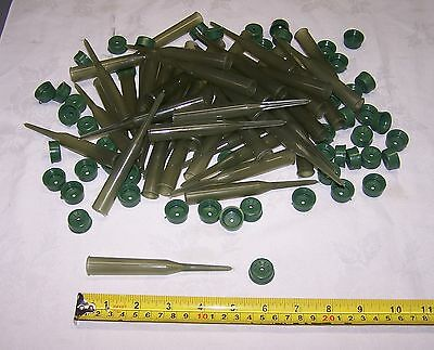 50 New Floral Green Water Picks Tubes With Caps Fresh Flowers Wedding USA Made