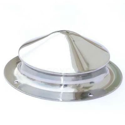 17cm High Polished Finish Raised Shield Boss 16g ideal for Re-enactment or Stage