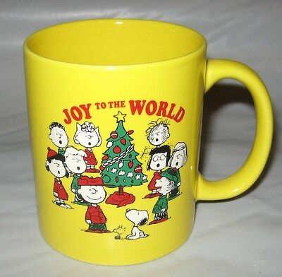 Snoopy Peanuts Mug~ Joy To The World Mug 2015