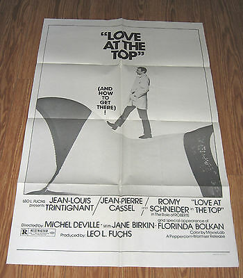 Love at the Top - Restricted Original Movie Poster