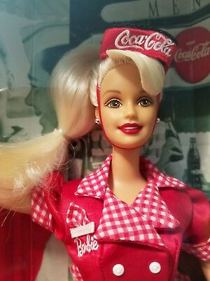 Barbie CarHop Waitress Coca-Cola First In The Series