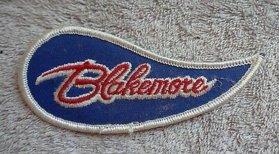 """Patch: BLAKEMORE, Red White Blue, Approx 4.5""""x2"""", Unused"""