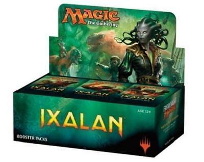 Ixalan Booster Box of 30x Booster Packs Partial Box Sealed Magic The Gathering