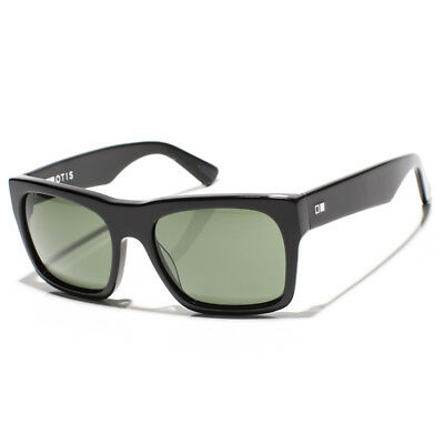 New Otis Stones Throw Sunglasses Gloss Black/Grey Lens 11-1706 RRP $190