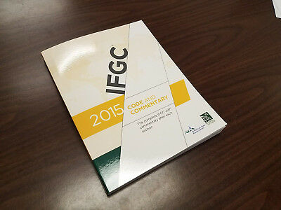 2015 International Fuel Gas Code Commentary (IFGC) Soft Cover - Paperback