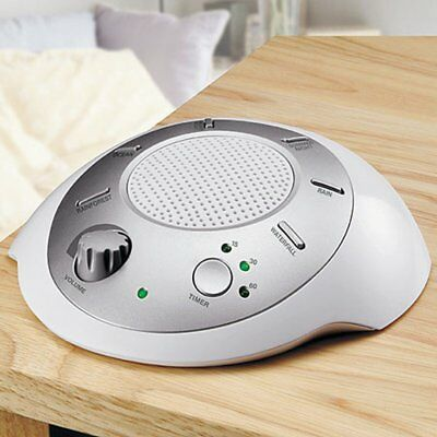 HoMedics Sleep Atd Sound Spa Relaxation Sound Machine with 6 Nature Sounds,