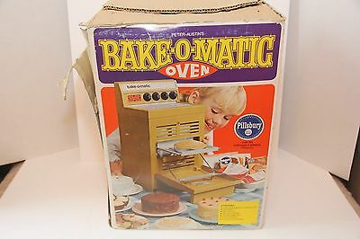 Vintage Peter Austin's Bake O Matic Oven Green With Box