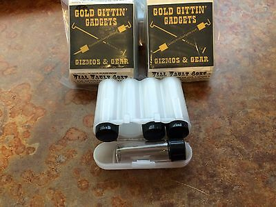White Vial Vault 4 ozt from Gold Gittin' Gadgets Gizmos & Gear