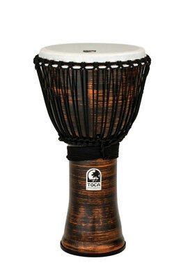Toca Freestyle II Djembe 12'' Rope - TF2DJ-12SC - Spun Copper