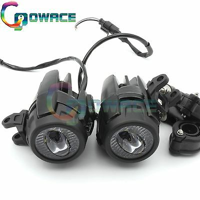 40W LED Auxiliary Fog Light Assemblies For BMW R1200GS ADV Safety Driving Lamp