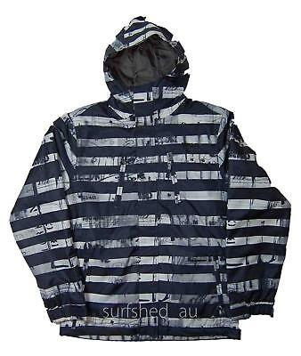 Size S Mens Rip Curl ANSWER SNOW JACKET Snowboard Ski Waterproof Jacket - Black