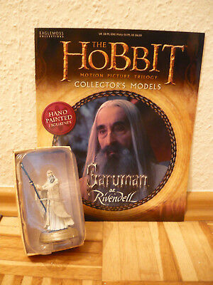 Hobbit Collectors Models: Saruman at Rivendell (Nr. 14) ~ Eaglemoss Sammelfigur