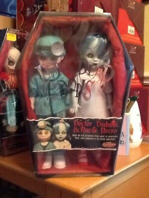 Living Dead Doll Doctor Dedwin & Nurse Necro Still Sealed