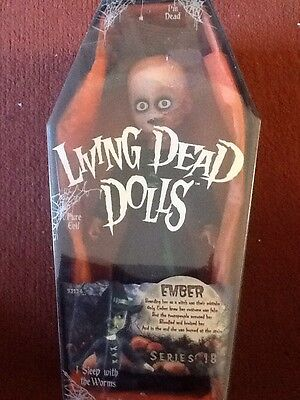 Mezco Living Dead Doll New And Sealed Ember