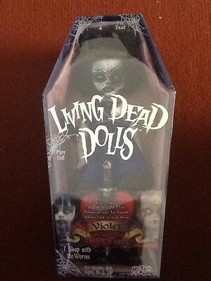 Mezco Living Dead Doll New And Sealed Violet