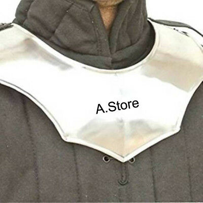 Armour Avenger Gorget Silver One Size