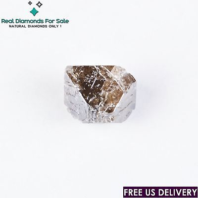 5.70 crt 11.40mm Octahedron Crystal Fancy Brown100% Natural loose Rough Diamond