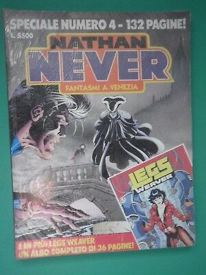 NATHAN NEVER SPECIALE N° 4 BLISTERATO - fumetto d'autore  /SP/