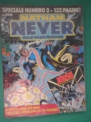 NATHAN NEVER SPECIALE N° 2 BLISTERATO - fumetto d'autore  /SP/