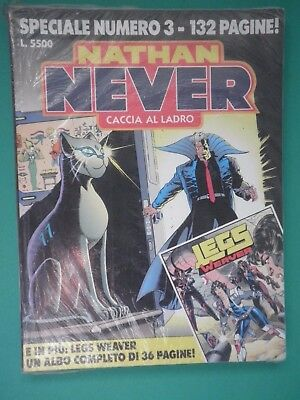 NATHAN NEVER SPECIALE N° 3 BLISTERATO - fumetto d'autore  /SP/
