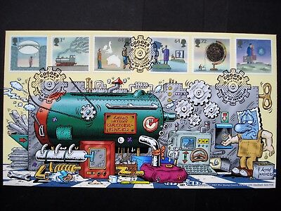 Phil Stamp Cover World of Invention 2007  Superb Ltd Ed No. 20 of 100