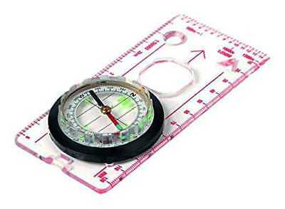 Highlander Deluxe Lightweight Map Ruler Compass - DIMENSIONS 12,5*6*1,5cm - NEUF
