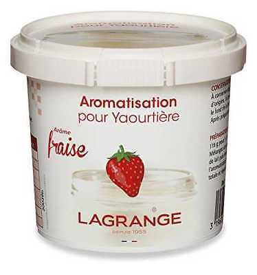 Lagrange - Aromatisation pour Yaourtière Fraise 125g - NEUF