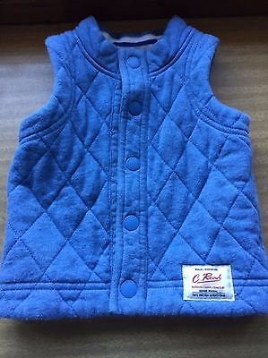 Country Road baby toddler Quilted Vest 12-18 months body warmer