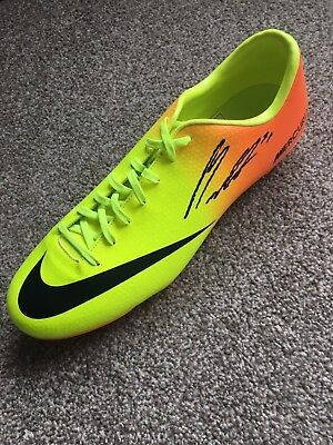 Nemanja Matic signed Nike Football Boot Exact PROOF not Shirt Manchester United