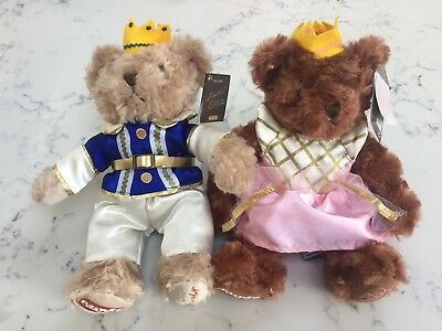 EasyJet Teddies/ Bears Princess Lily & Prince Gulliver Limited Edition