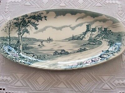 Vintage British Anchor Staffordshire Serving/MEAT Platter