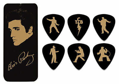 Dunlop Elvis Presley Collector Picks - Portrait 6 Plektren