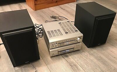 technics mini hifi anlage cd cassette tuner fb eur 1 00 picclick de. Black Bedroom Furniture Sets. Home Design Ideas