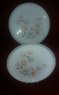Denby Encore salad/side (2 plates) measuring 8.25 inches