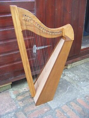 Welsh Hand Made Lap Harp
