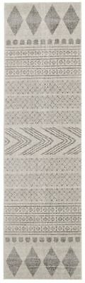 Hallway Runner Rug Grey Hall Runner Floor Carpet Mat 3 Meters Long Modern Design