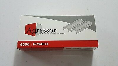 Agressor staples to suit Stanley Bostitch - 6 mm B8 Staples 5000 Pack