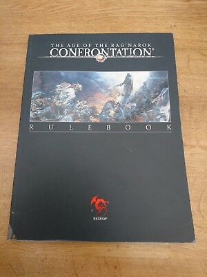 Confrontation The Age of Ragnarok Wargames Rulebook by Rackham (Softcover)