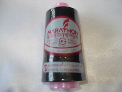 Marathon Bobbin Thread, Black, 5,000m for Embroidery Machine
