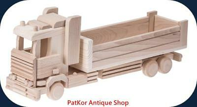 Truck Large Wood Natural -49Cm/4280