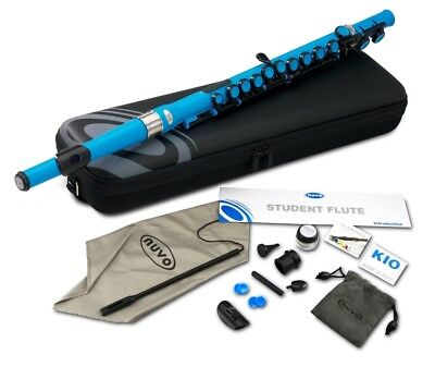 Nuvo Student Flute - Electric Blue