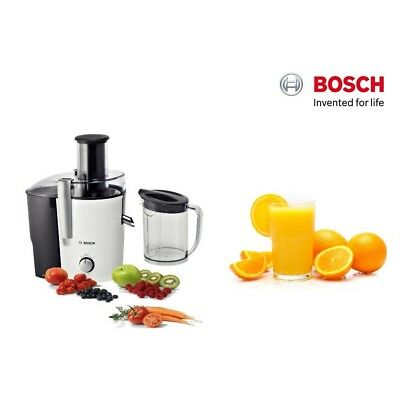 Bosch Juicer 700W 1.25L Juice Capacity Drip Stop & Free Gift Mes25A0Gb New