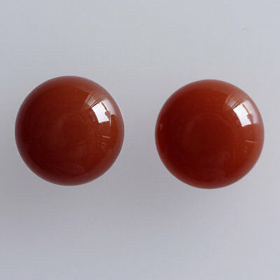 25MM Round Shape, Carnelian Calibrated Cabochons AG-227