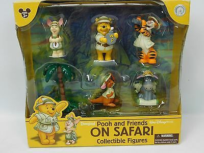 Disney Winnie The Pooh On Safari Collectible Figures FREE UK POST