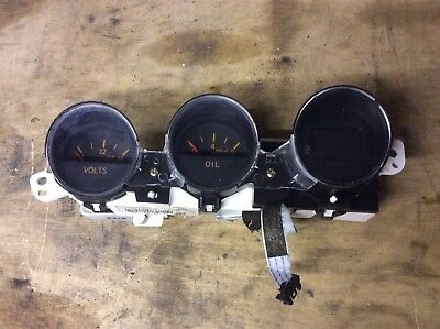 Nissan 350Z Instrument Gauges Dash Oil, Volts Clock.