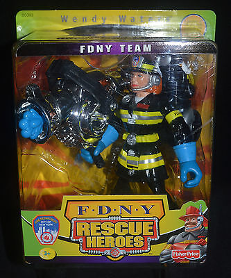 WENDY WATERS Firefighter Rescue Heroes Female Voice Tech FDNY TEAM
