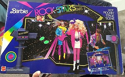 Vintage Barbie & The Rock Stars Disco Cafe 1985 - New In Box