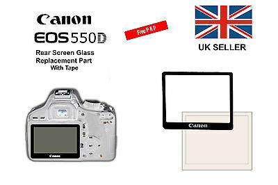 Rear Screen Replacement Part with Tape For Canon 550D