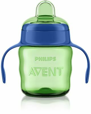 Philips Avent Easy Sip Spout Cup with Handle 200 ml Blue NEW