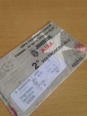 1996/97 Juventus V Ajax - Champions League - Used Ticket